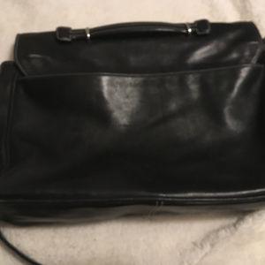 Coach Bags - Vintage Coach Black Leather Attache
